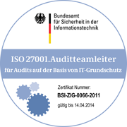 BSI 27001 Audit-Teamleiter
