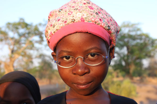 OneDollarGlasses - Girl in Malawi 2014 - (C) Martin Aufmuth