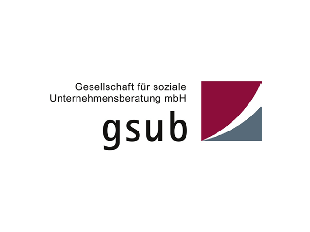 Logo der Gesellschaft für soziale Unternehmensberatung